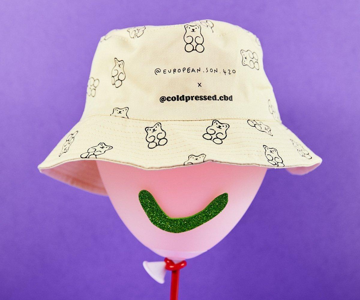 cold-pressed bucket hat